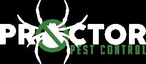 Proctor Pest Control white Logo